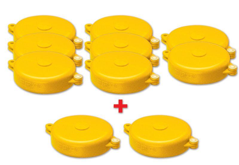 8 + 2 vergrendelingssystemen voor lockout handwiel afsluiters