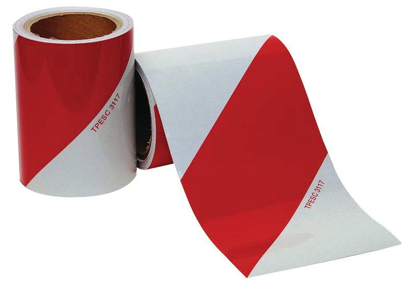 Kit personaliseerbare, retroreflecterende tape voor voertuigen