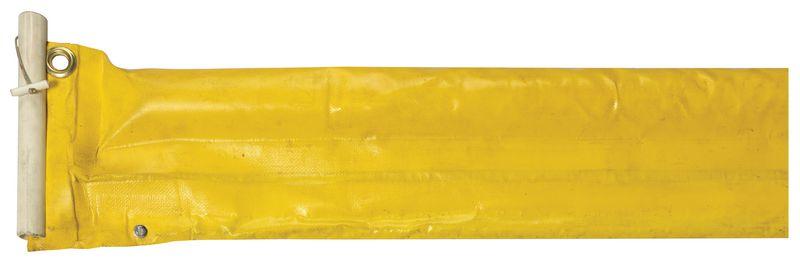 Kleine barrière voor de beperking van olieverspreiding