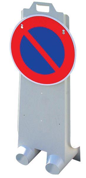 """Verzwaarbaar signalisatiebaken """"verboden te parkeren"""""""