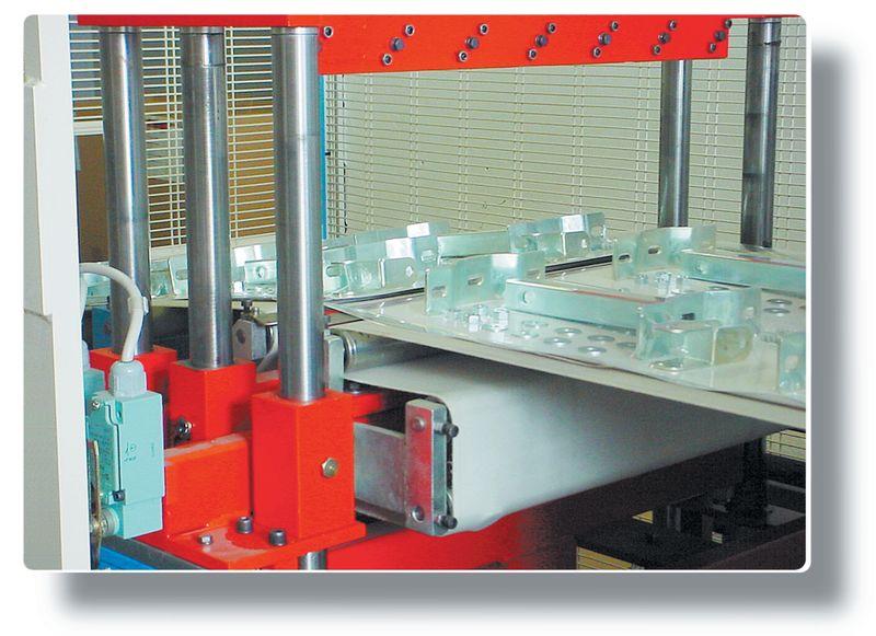 Platte spiegel voor productiecontrole
