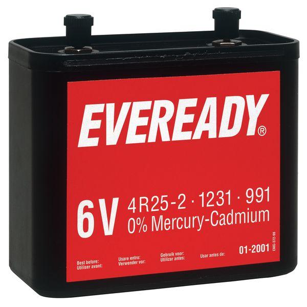 Niet-oplaadbare standaard batterij 6 V