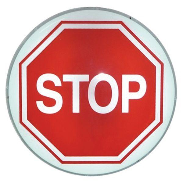 """Voorrangsborden met verlichting """"Stopbord"""""""