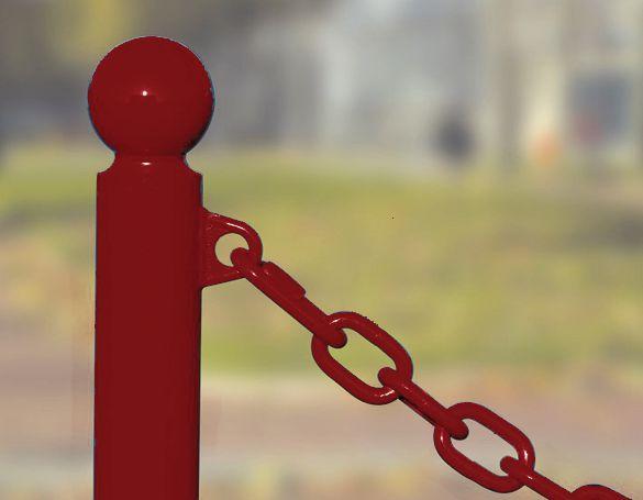 Verbindingsschakels voor bevestiging aan afzetpalen
