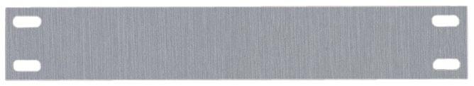Platte houders van aluminium voor leidingsmerkers