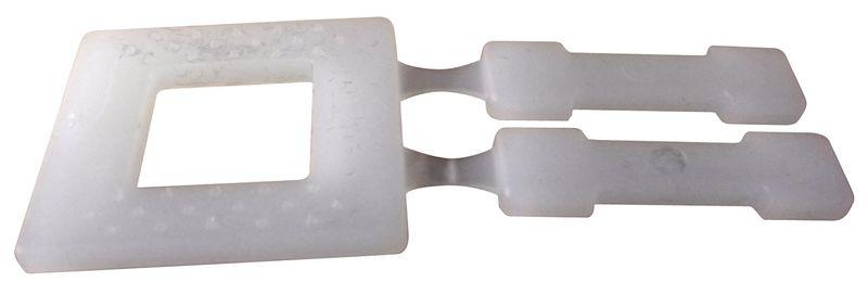 Plastic gespen voor omsnoeringsband