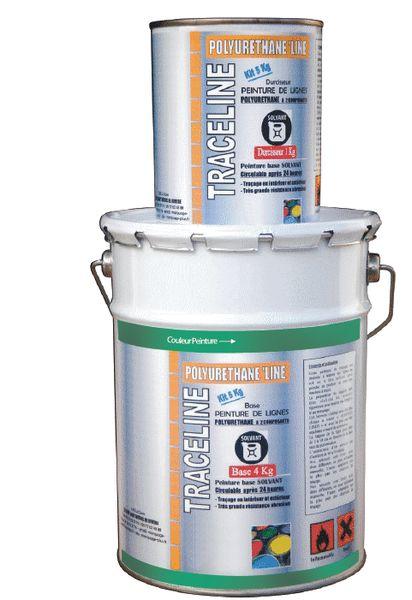 Markeringsverf op solventbasis, speciaal voor buitengebruik