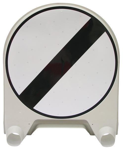 """Tijdelijke verkeersborden """"Einde van alle hiervoor aangegeven verboden"""""""