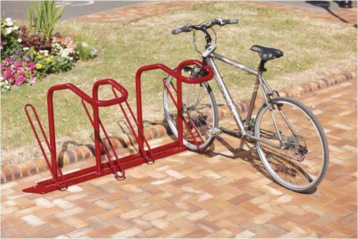 Modulaire, enkelzijdige fietsbeugel