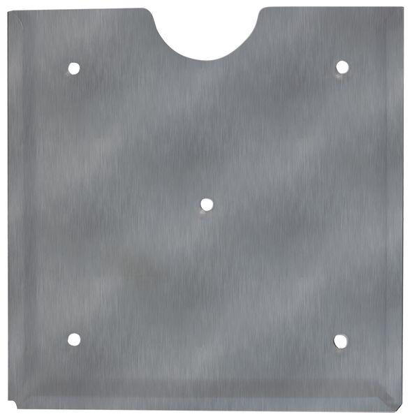 Stalen of inox ADR bord houder