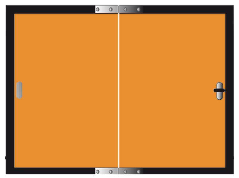 Oranje ADR-borden voor transport van gevaarlijke stoffen