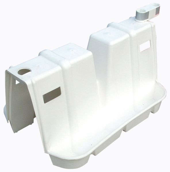 Stapelbare kunststof separators