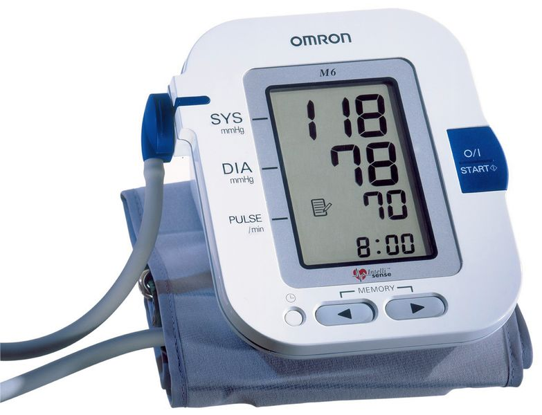 Professionele, automatische bloeddrukmeter