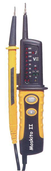 Spanningsmeter met autotest-functie