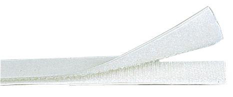 Witte klittenband op rol