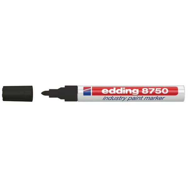 Verfmarker Edding 8750 voor moeilijke oppervlakken - 2 mm