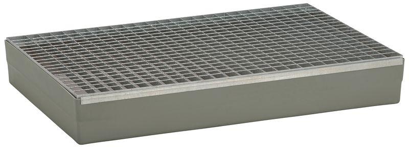 Platform van lekbakken van polyester