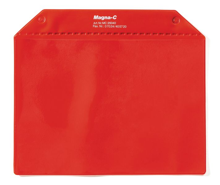 Magnetische documenthouder met beschermende flap
