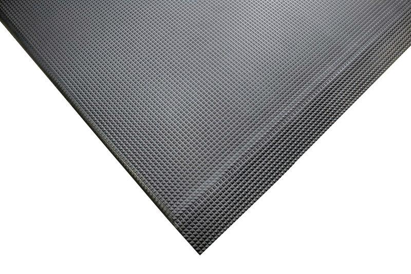 Antivermoeidheidsmat met diamantprofiel voor droge, vochtige of olieachtige omgeving