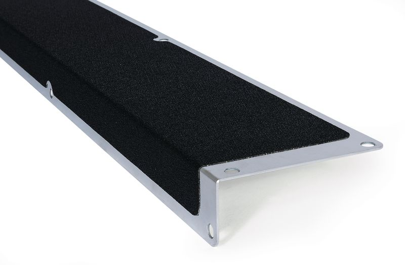 Slipvaste trapplaat in aluminium EasyClean
