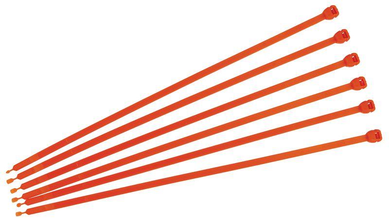 Chipster kabelbinders met RFID-chip