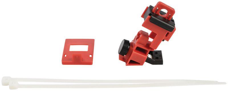 TagLock™ vergrendelingssysteem voor installatieautomaat met schroef