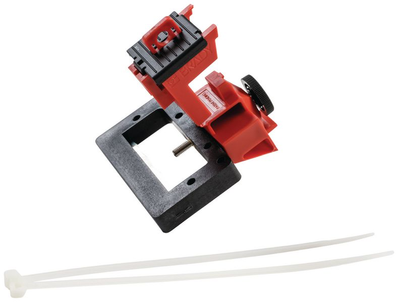 TagLock™ vergrendelingssysteem voor installatieautomaat met schroef, groot formaat