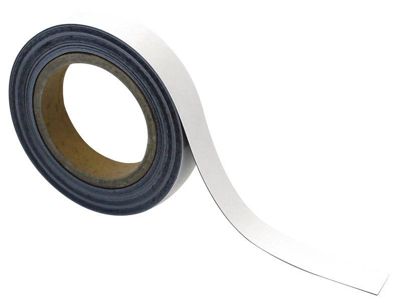 Beschrijfbare en afwasbare magneettape