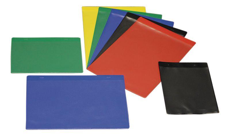 Gekleurde insteekhoezen met verschillende bevestigingsmogelijkheden