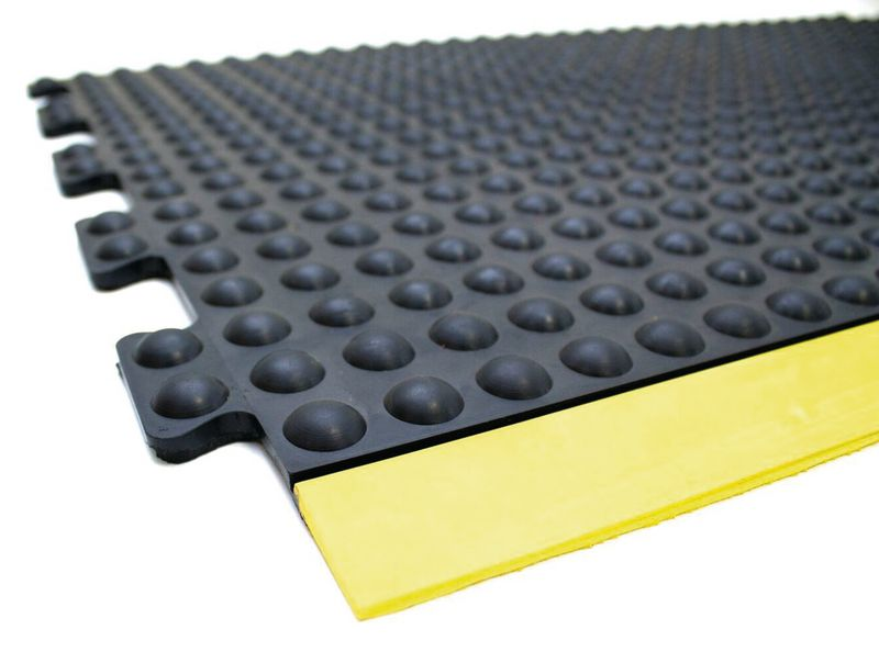 Modulaire antivermoeidheidsmat met noppen voor droge of vochtige omgeving