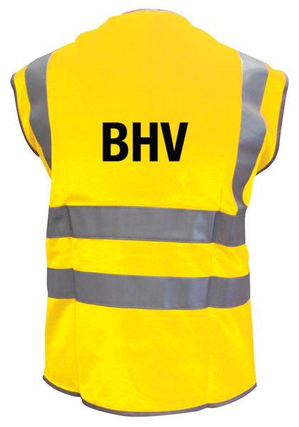 "Fluorescerende en reflecterende veiligheidshesjes ""BHV"""