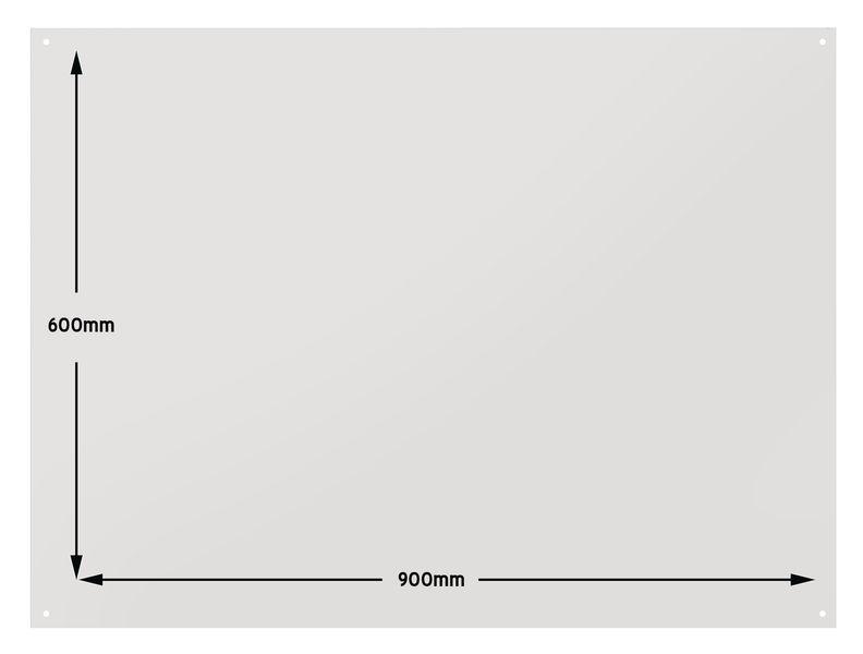Schaduwbord van Foamex