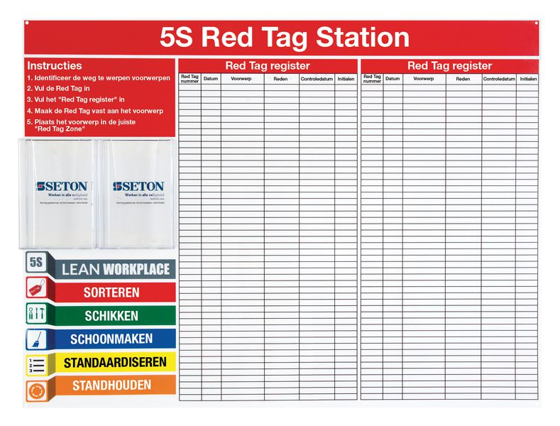 Red tag station