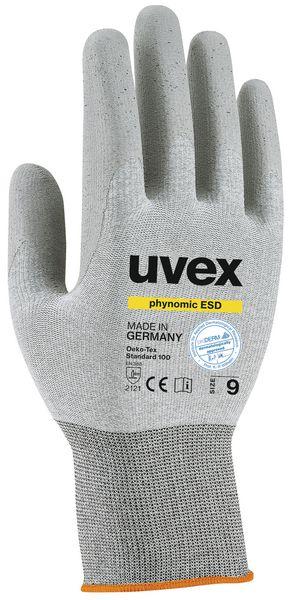 ESD werkhandschoenen Uvex Phynomic
