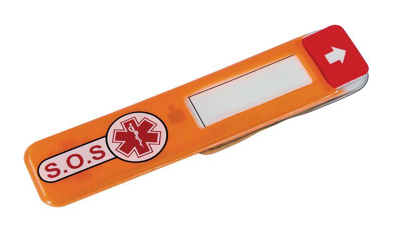 Identificatielabel voor noodgevallen