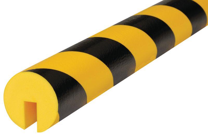 Ronde stootrand Optichoc in U-vorm voor randen van 12 mm