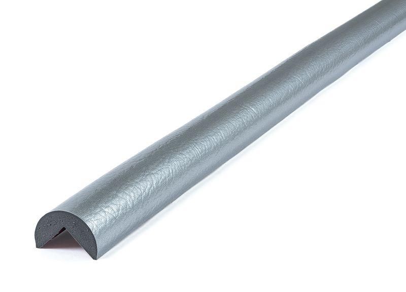 Eenkleurige, afgeronde stootrand voor hoek Optichoc, hoek van 25 mm
