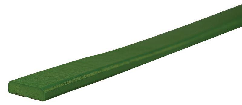 Eenkleurige, platte stootrand voor muur Opticoc, oppervlak van 40 mm