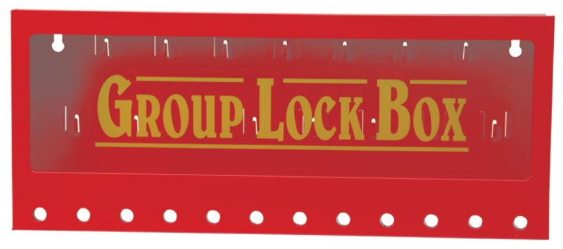 Lockoutbox voor muurbevestiging