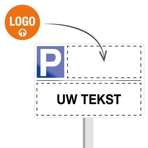 """Borden """"Voorbehouden parkeerplaats"""" – Online personaliseerbaar"""