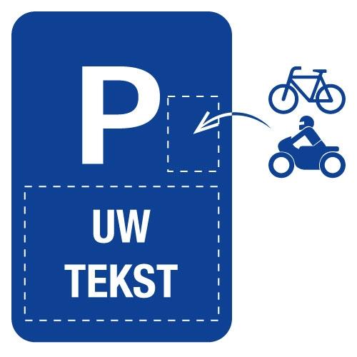 Personaliseerbare aluminium parkingborden