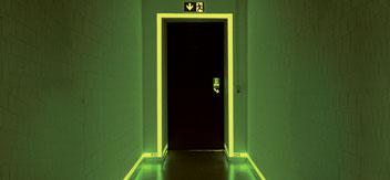 Fotoluminescente signalering