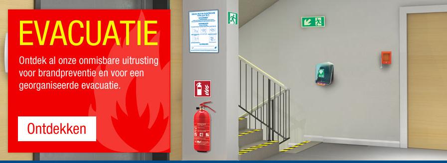 Onmisbare uitrusting voor brandpreventie en evacuatie