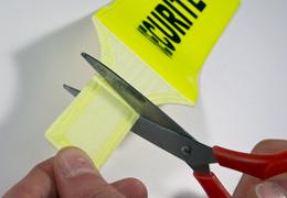 Flexibele fluorescerende veiligheidsarmband