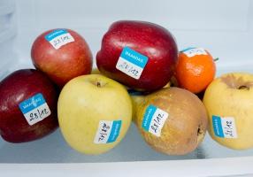 Keuringssticker voor de voedingsindustrie