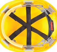 Veiligheidshelm JSP® Micropeak binnenkant