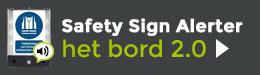 Sprekend veiligheidsbord