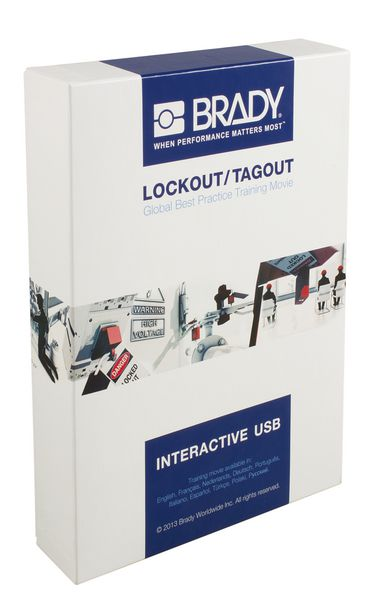 USB-minne med instruktionsvideo: Lockout & Tagout