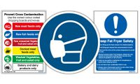 Food Safety & Catering Signs