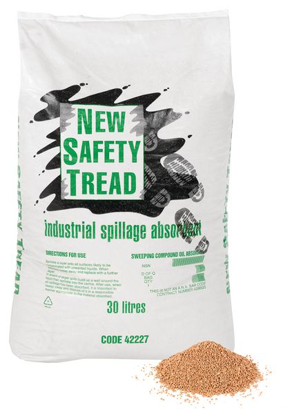 Clay Absorbent Granules - Safety Tread